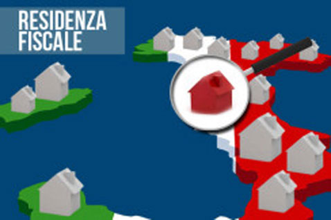 RESIDENZA FISCALE IN ITALIA